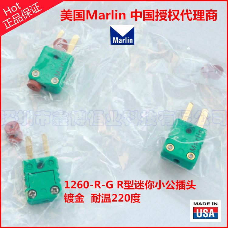 1260-R-G鍍金熱電偶插頭