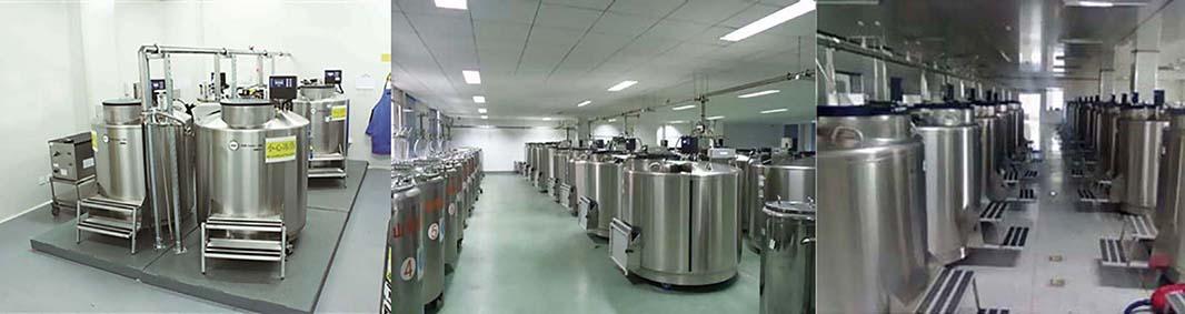 大口径不锈钢液氮容器