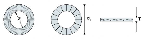 進口防松墊片韋德科技銷售代理0755-2665 6615