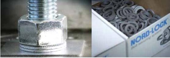 韋德科技銷售代理洛帝牢NORD-LOCK雙疊自鎖 不銹鋼 碳鋼防松墊圈