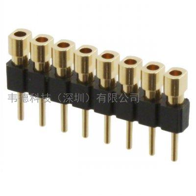 mill-max_800-10-008-40-002000_mill-max矩形_板對板連接器 _針座,公引腳_韋德科技(深圳)有限公司