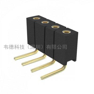 mill-max 851-xx-004-20-001000_ mill-max矩形連接器-針座,插座,母插口_韋德科技(深圳)有限公司