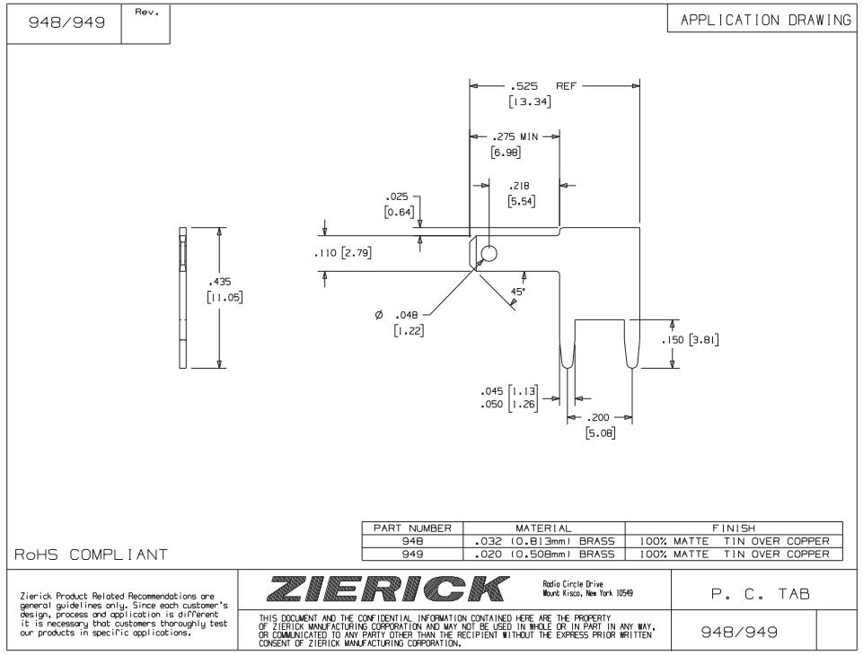 ZIERICK測試端子_連接端子_連接器948_技術應用圖