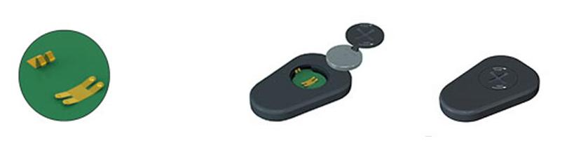 Keystone電池觸點-韋德科技代理銷售0755-26656615