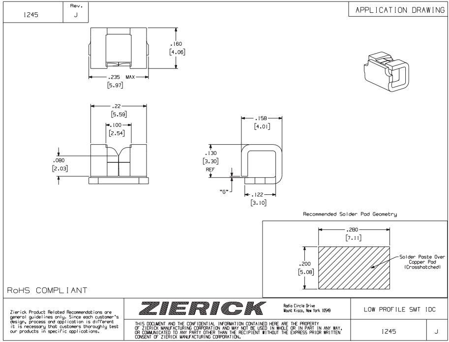 ZIERICK線夾1296連接器_韋德科技(深圳)有限公司0755-2665 6615