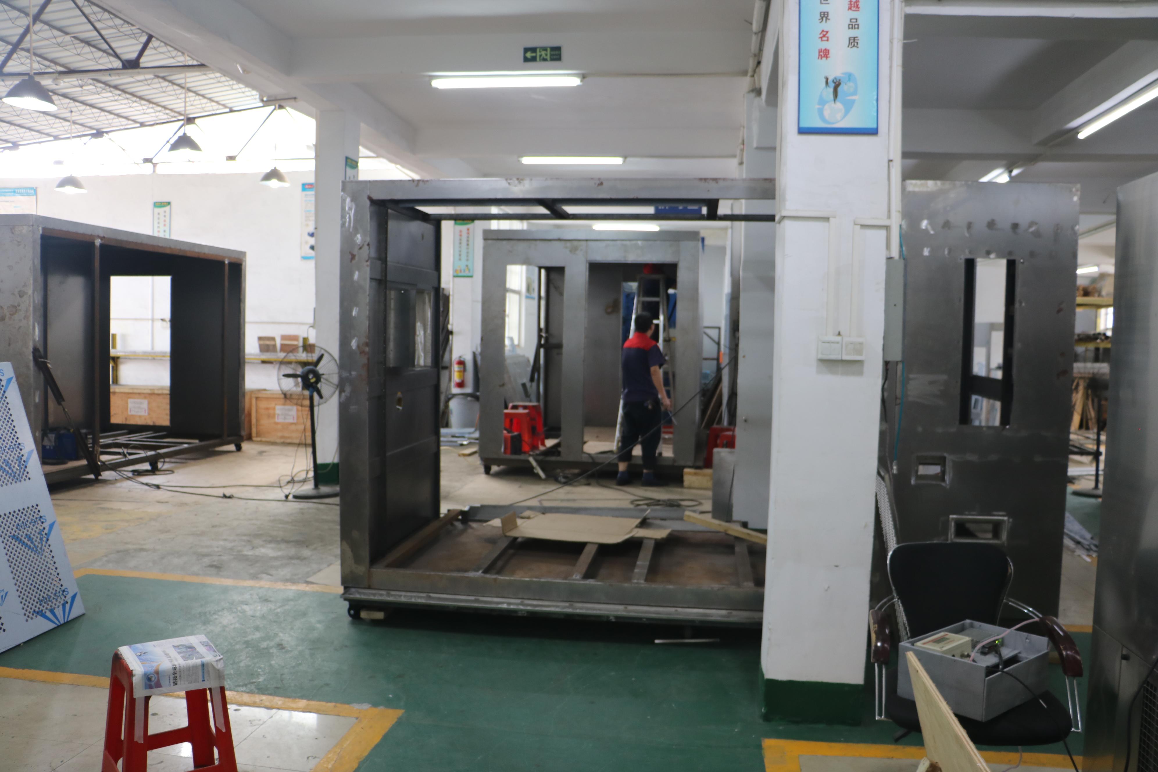可程式恒溫恒濕試驗箱和冷熱沖擊試驗箱加工生產中