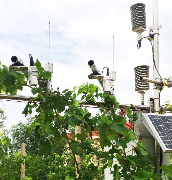 QT-2011 群落冠層紅外溫度監測係統