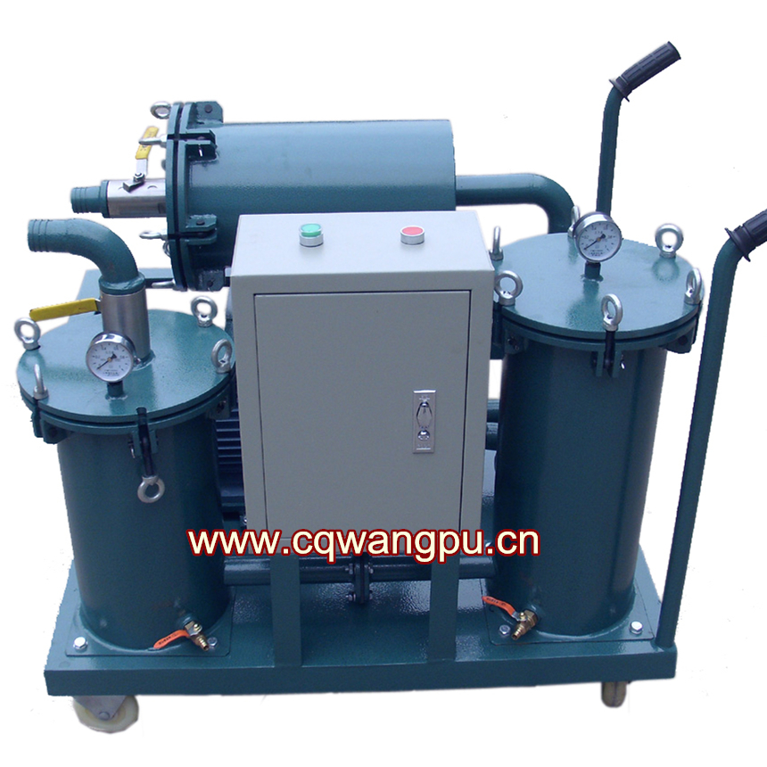 YL-B-100移動式潤滑油過濾機
