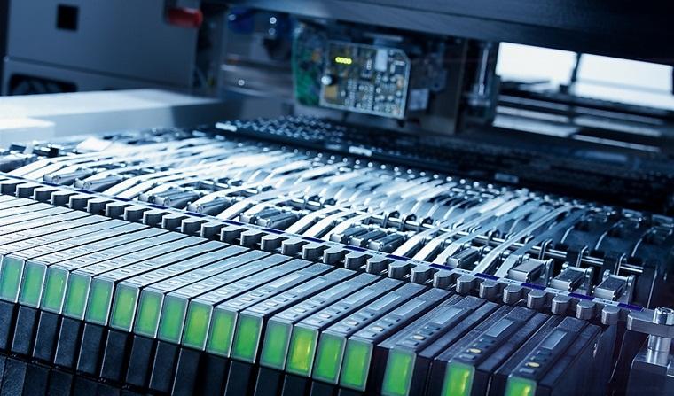 ASM-SIPLACE-XFeeder SIPLACE給料器 更大的生產空間 SIPLACE X系列提供多達160個智能SIPLACE X供料器模塊空間