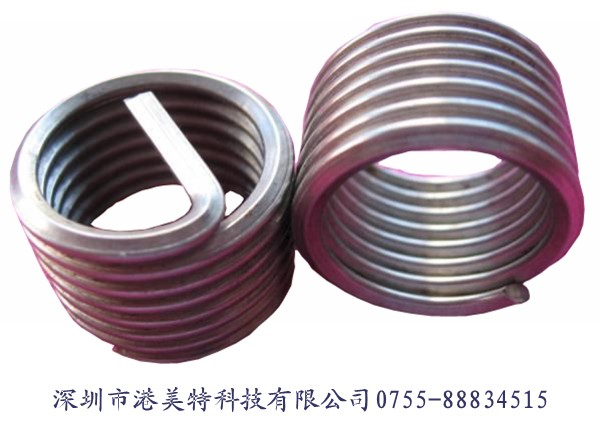 深圳钢丝螺套如何应对不同的温度呢?