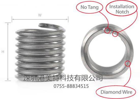 深圳市港美特科技有限公司是KATO无尾螺套的专业代理商