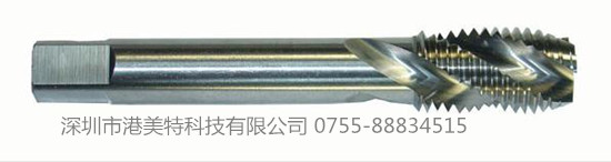 螺旋槽丝锥能切削出较高精度的内螺纹