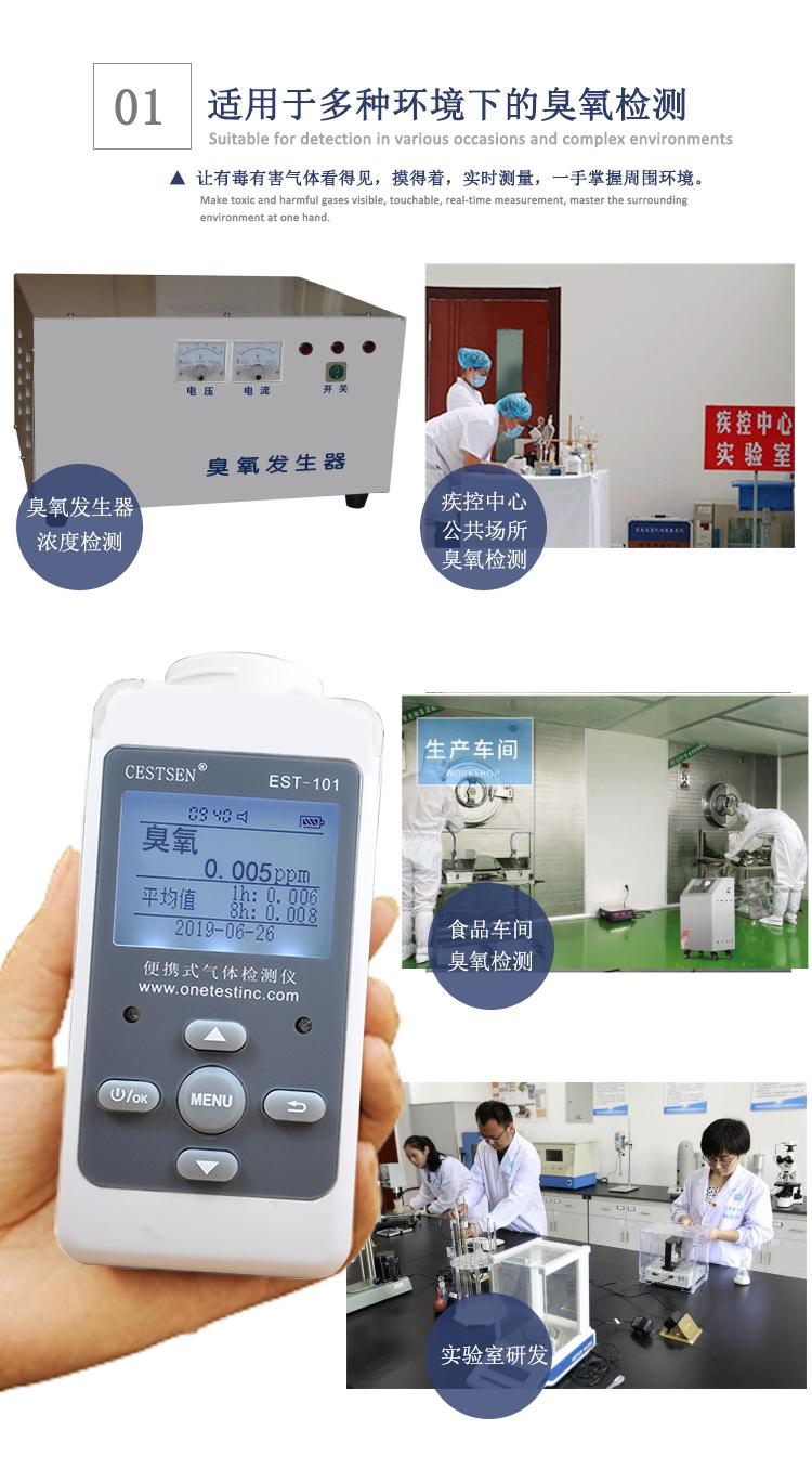 臭氧检测仪应用范围