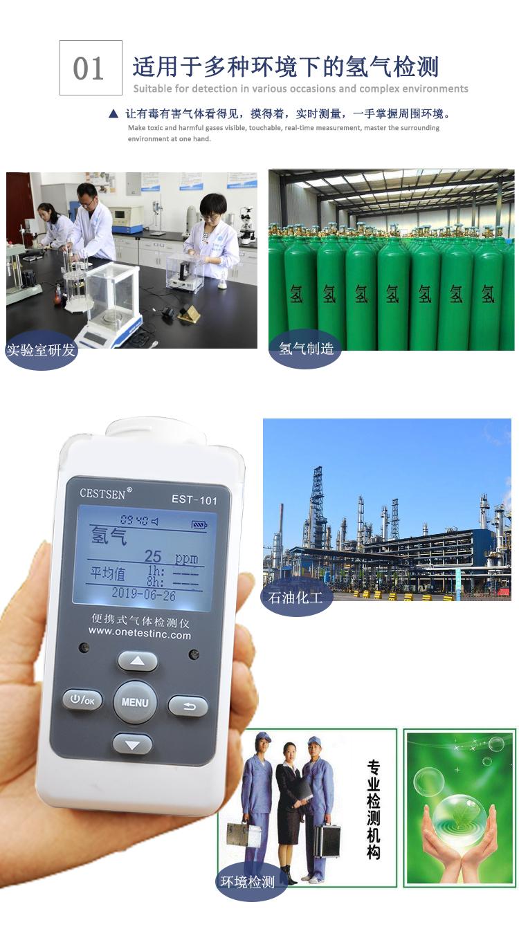 氢气检测仪应用范围