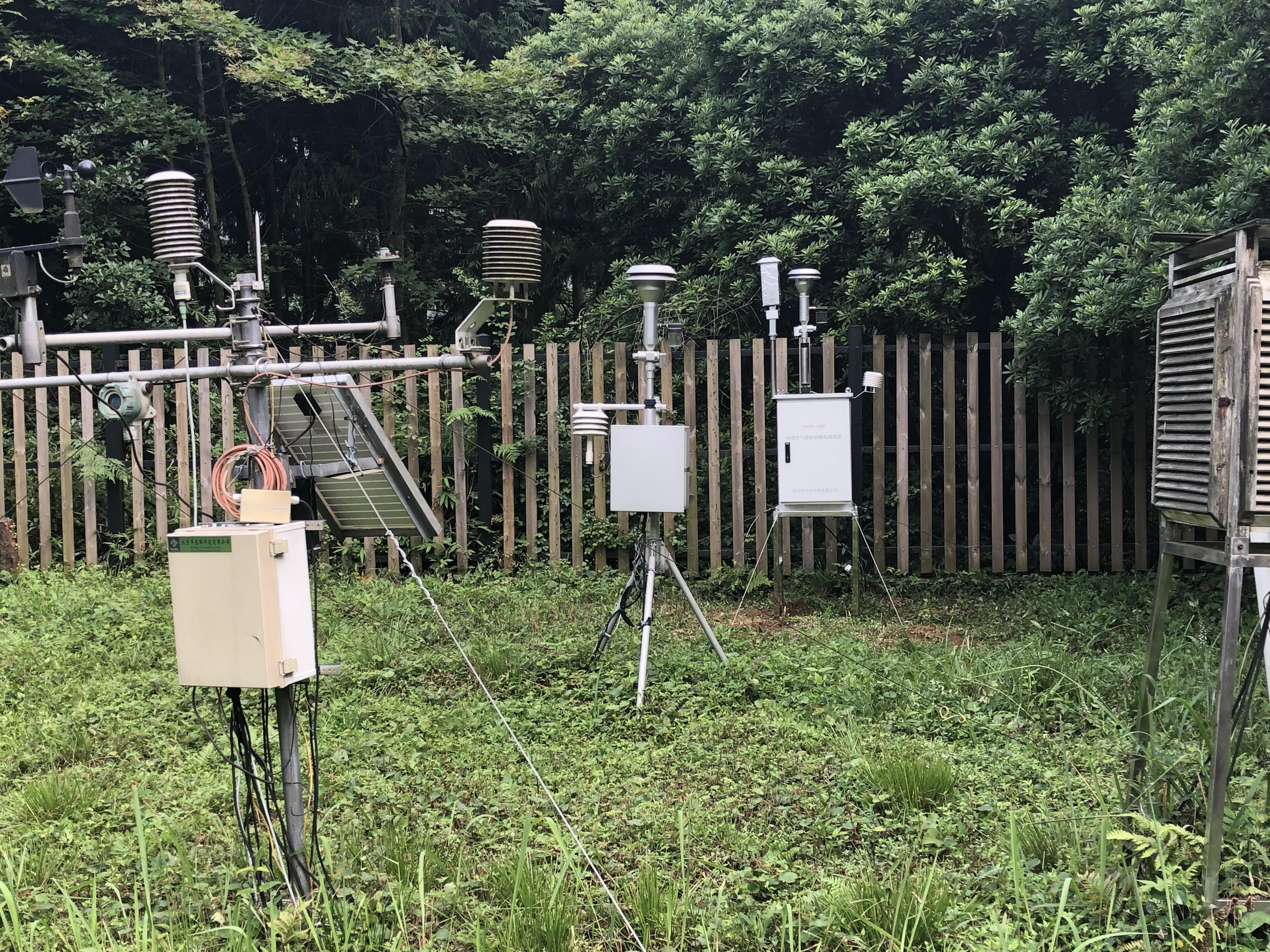 林业生态环境监测信息系统-空气质量监测