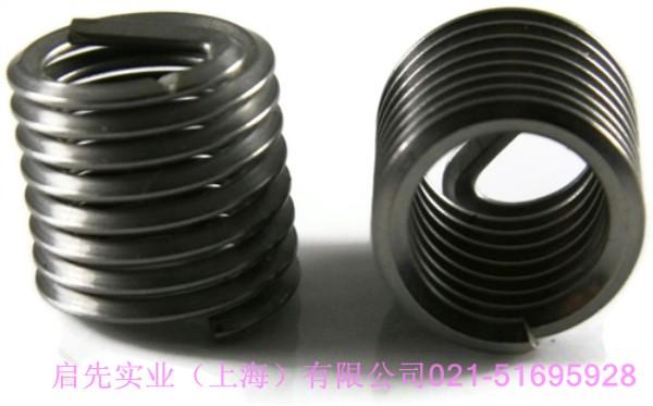 注塑机模板螺纹孔滑牙用不锈钢螺套修复