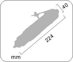 台湾NAWY耐威3/8″直式气钻NY-6510