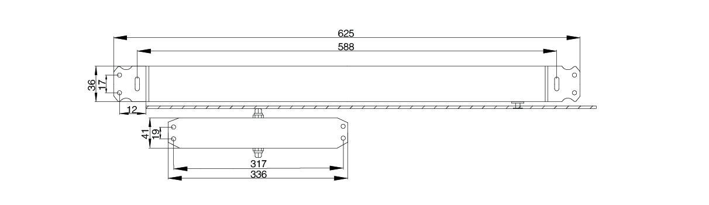 安科瑞電氣AFRD-DC防火門電磁釋放器 Acrel