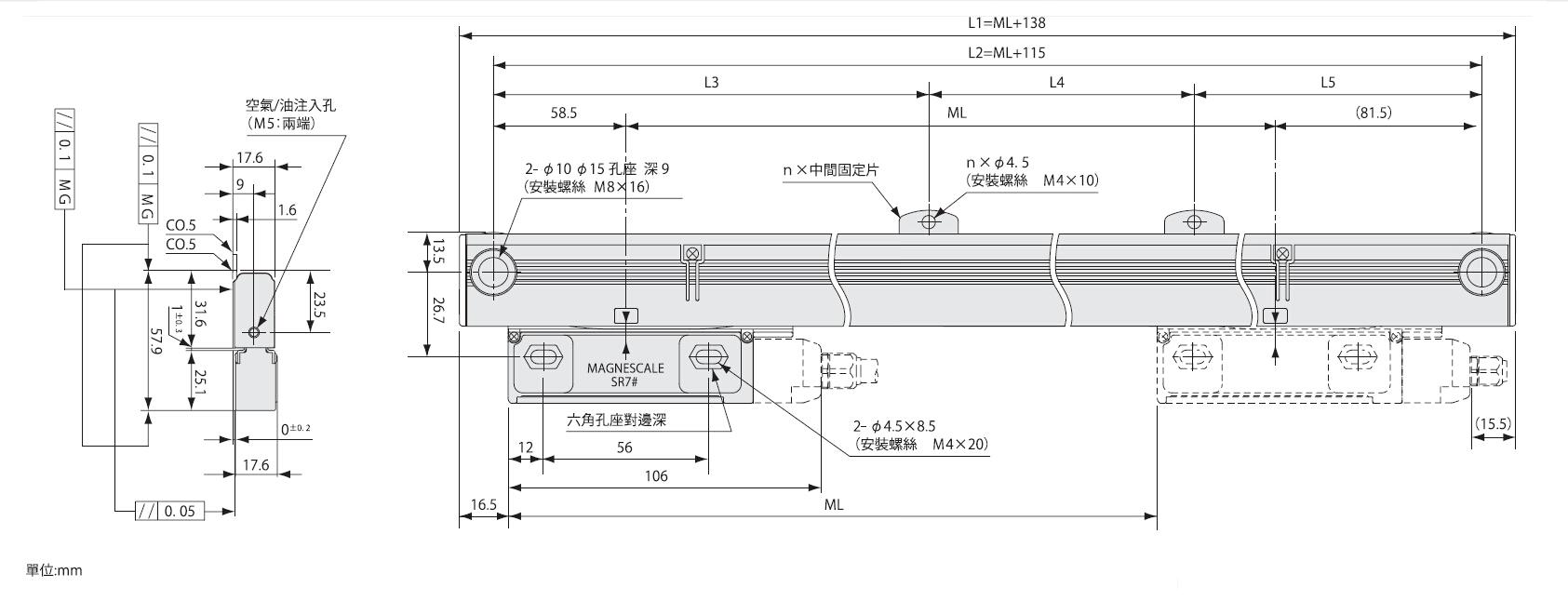 SR74多原點磁尺