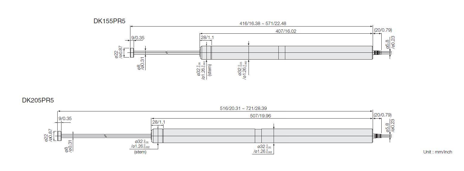 DK155大行程探規/DK205系列