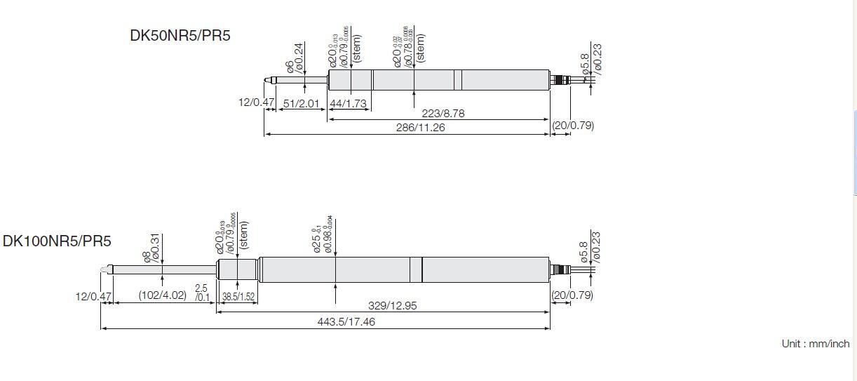 DK50高精度探規/DK100系列