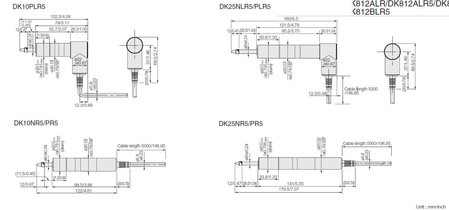 測量探規DK10/25系列