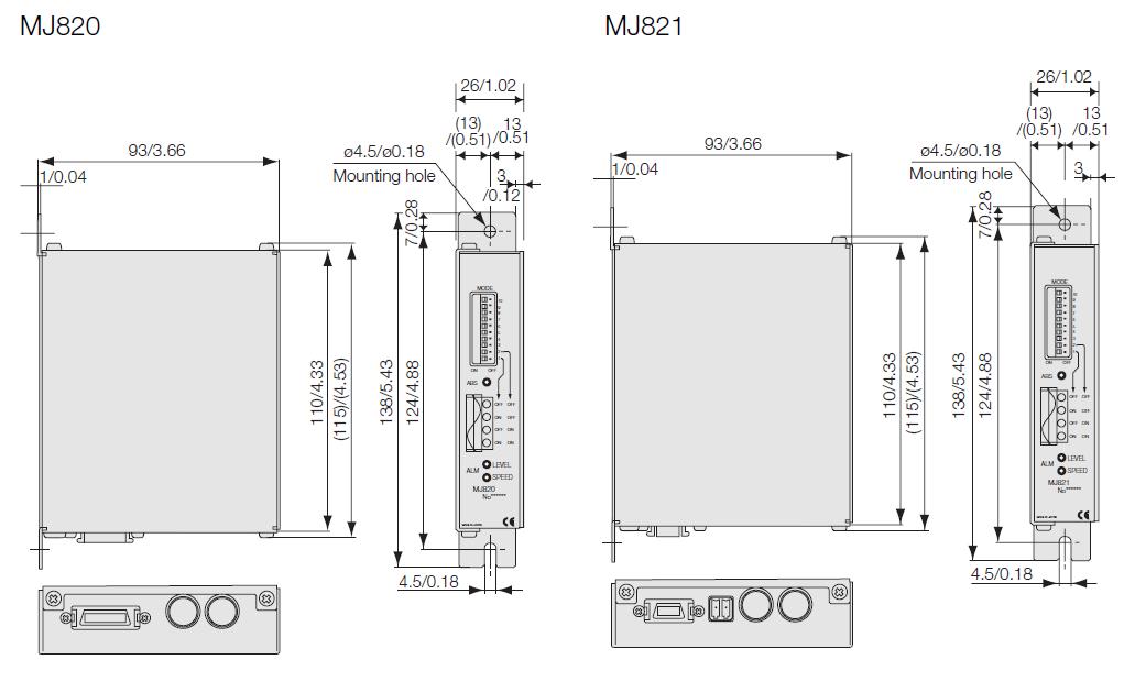 MJ820磁尺信號接收器/MJ821