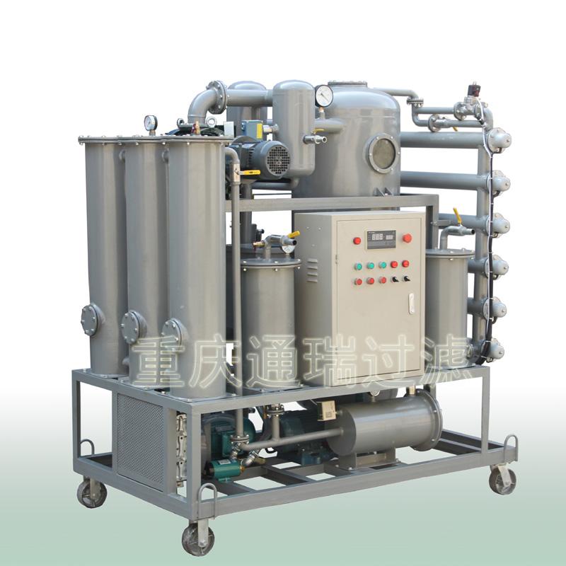 多功能除酸再生雙級真空濾油機工作原理及結構