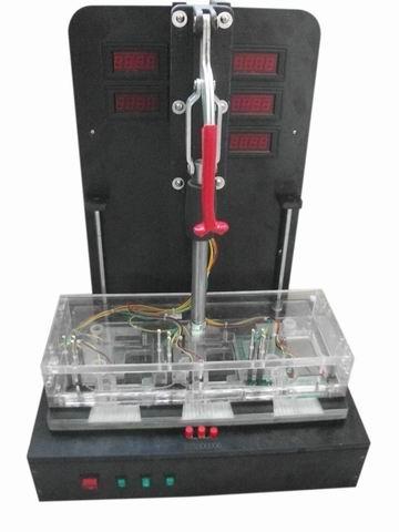 洗衣機電路板功能測試夾鎖治具
