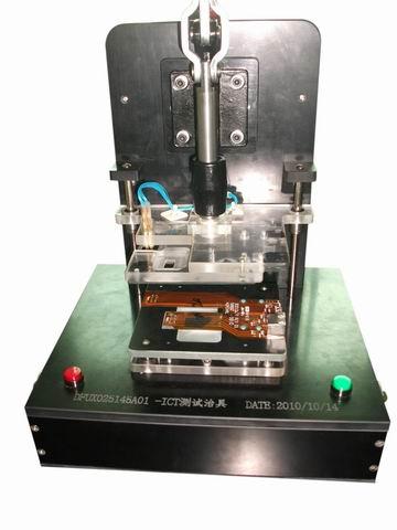 FPC排插對插測試夾鎖治具