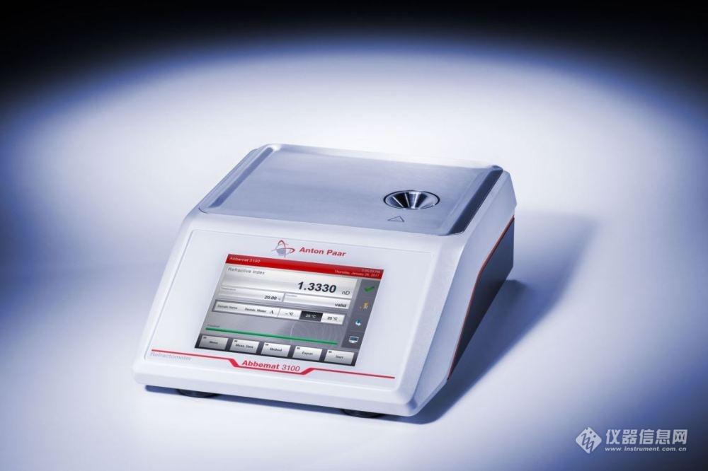 简约的高科技—安东帕Abbemat 3X00系列折光仪全新上市