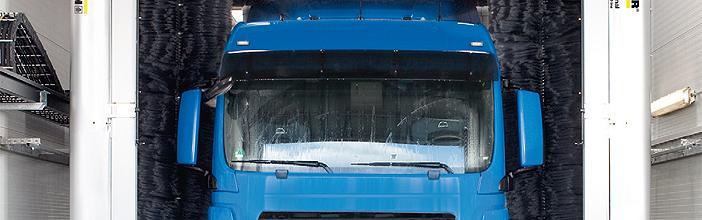 凯驰清洗设备特别是热水/冷水高压清洗机在运输业的应用——商用车辆及罐体清洗机