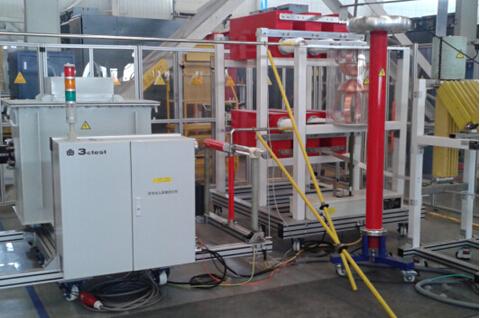 150kV多用途復合波測試系統成功交付用戶使用
