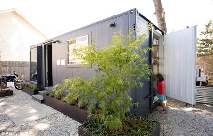 美國的集裝箱住宅
