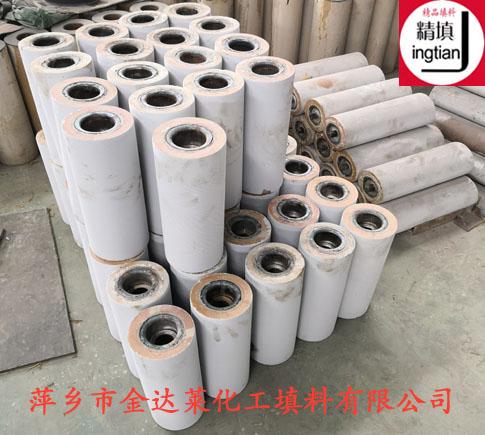 耐磨陶瓷托辊 萍乡金达莱
