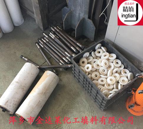 耐磨陶瓷托辊价格 萍乡金达莱