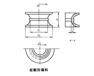 陶瓷矩鞍环结构图 萍乡金达莱